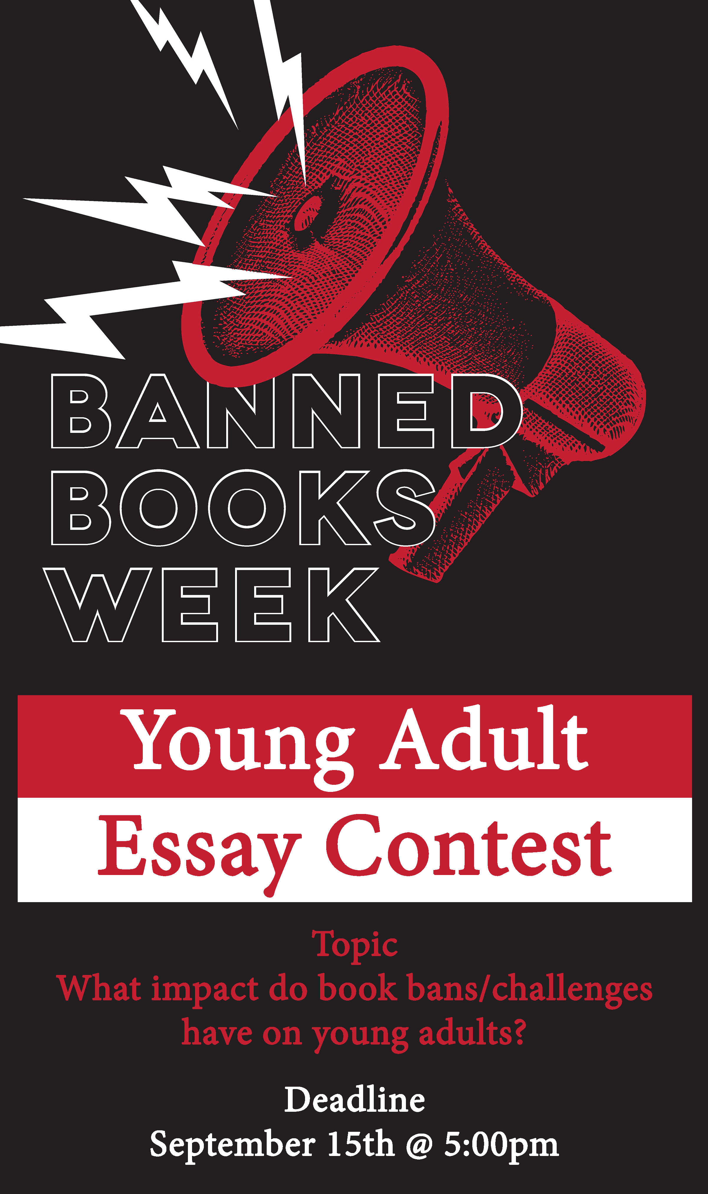 Inaugural Banned Book Essay Contest