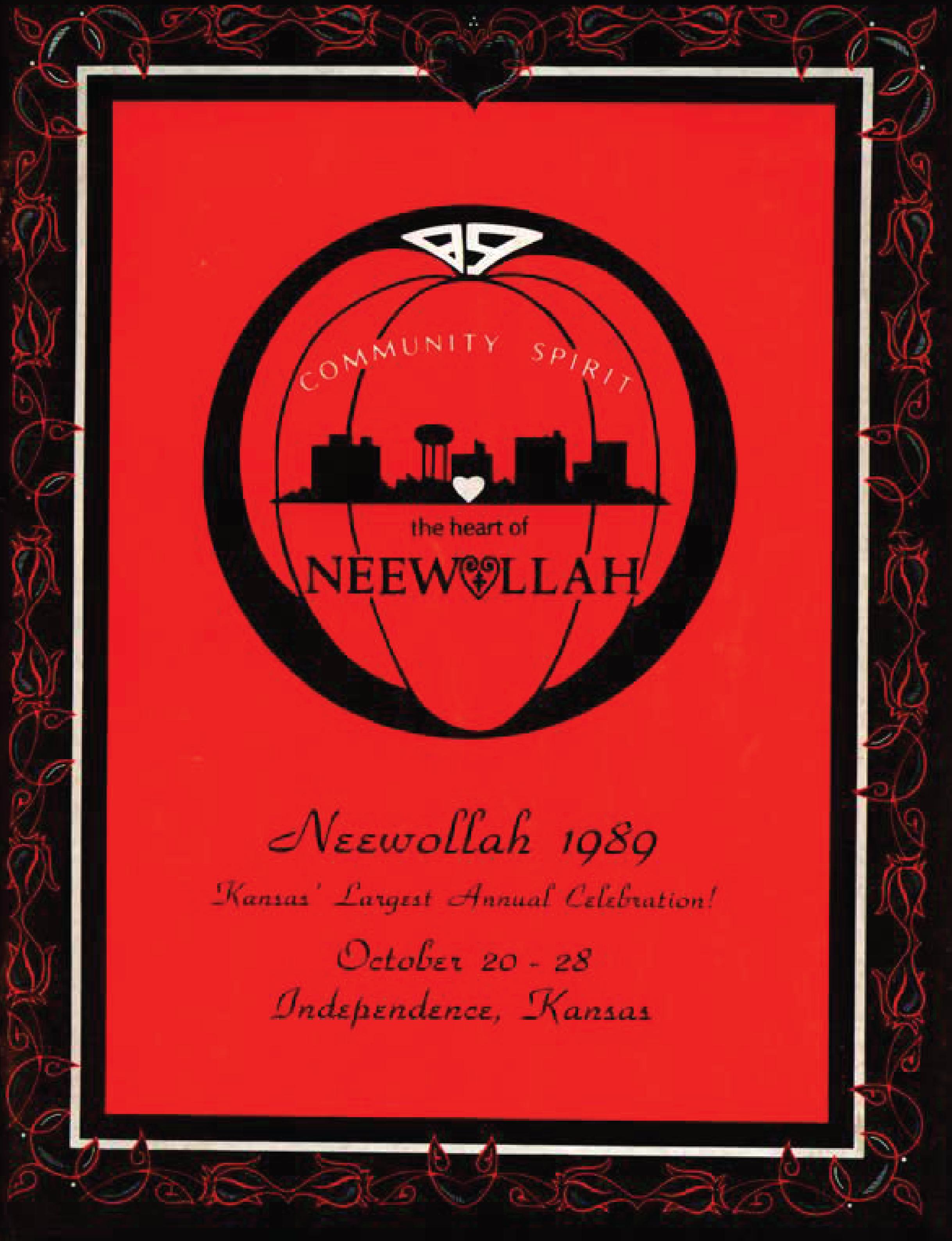 Neewollah 1989 Community Spirit the Heart of Neewollah