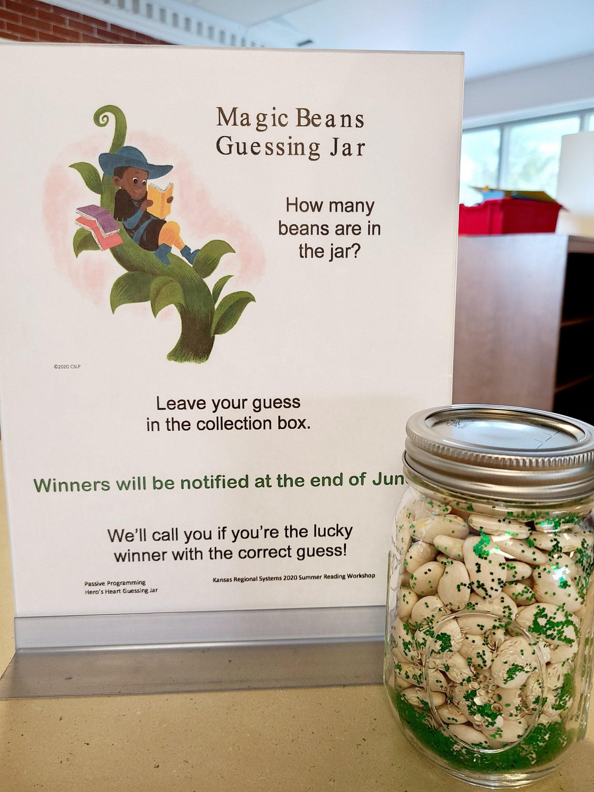 Magic Beans Guessing Jar @ Home