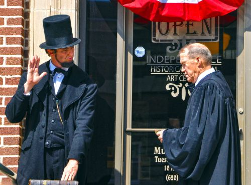 Lincoln's Inauguration at the Lincoln: The Constitution and the Civil War Exhibition